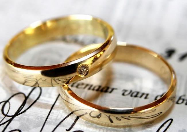 Обручальные кольца американского типа