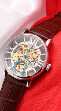 Omega Hour Vision Co-Axial Skeleton